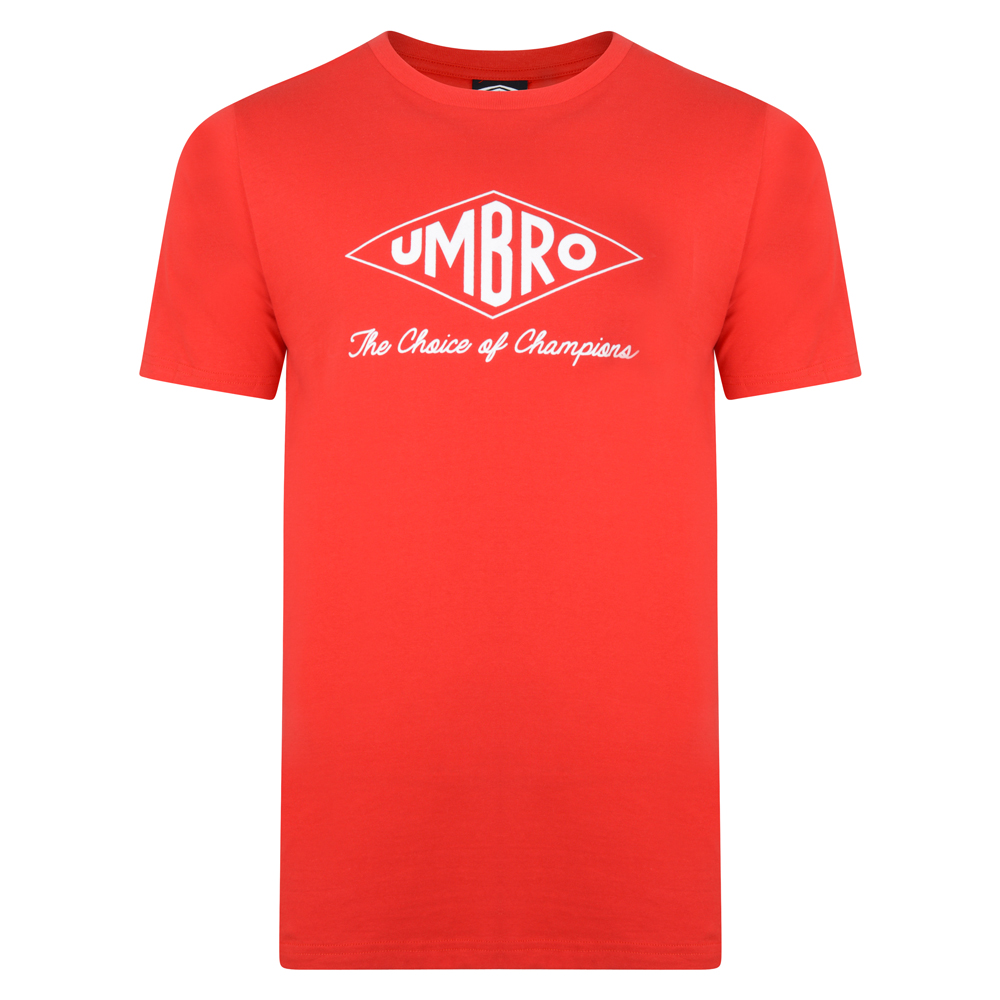 Umbro Choice of Champions Red Tee