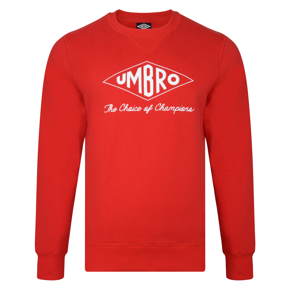 Umbro Choice of Champions Red Sweatshirt