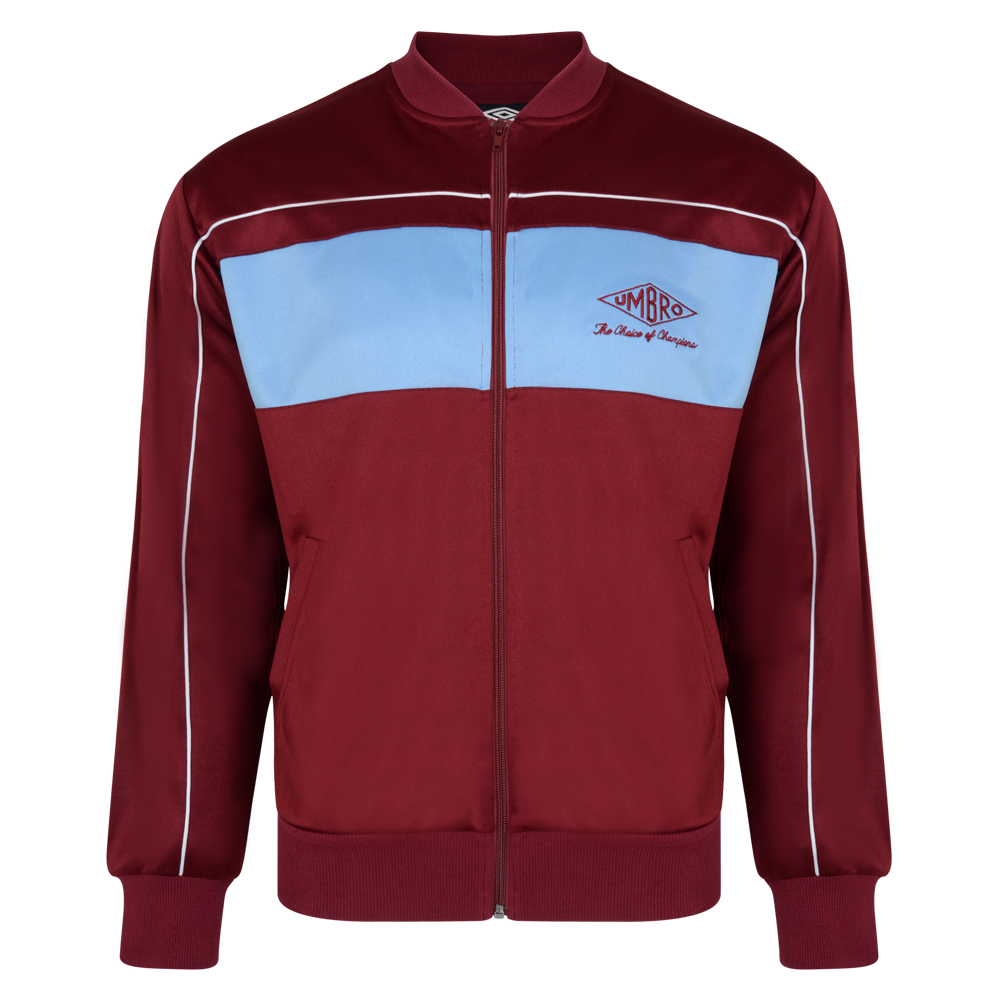 Umbro Choice of Champions Claret Track Jacket