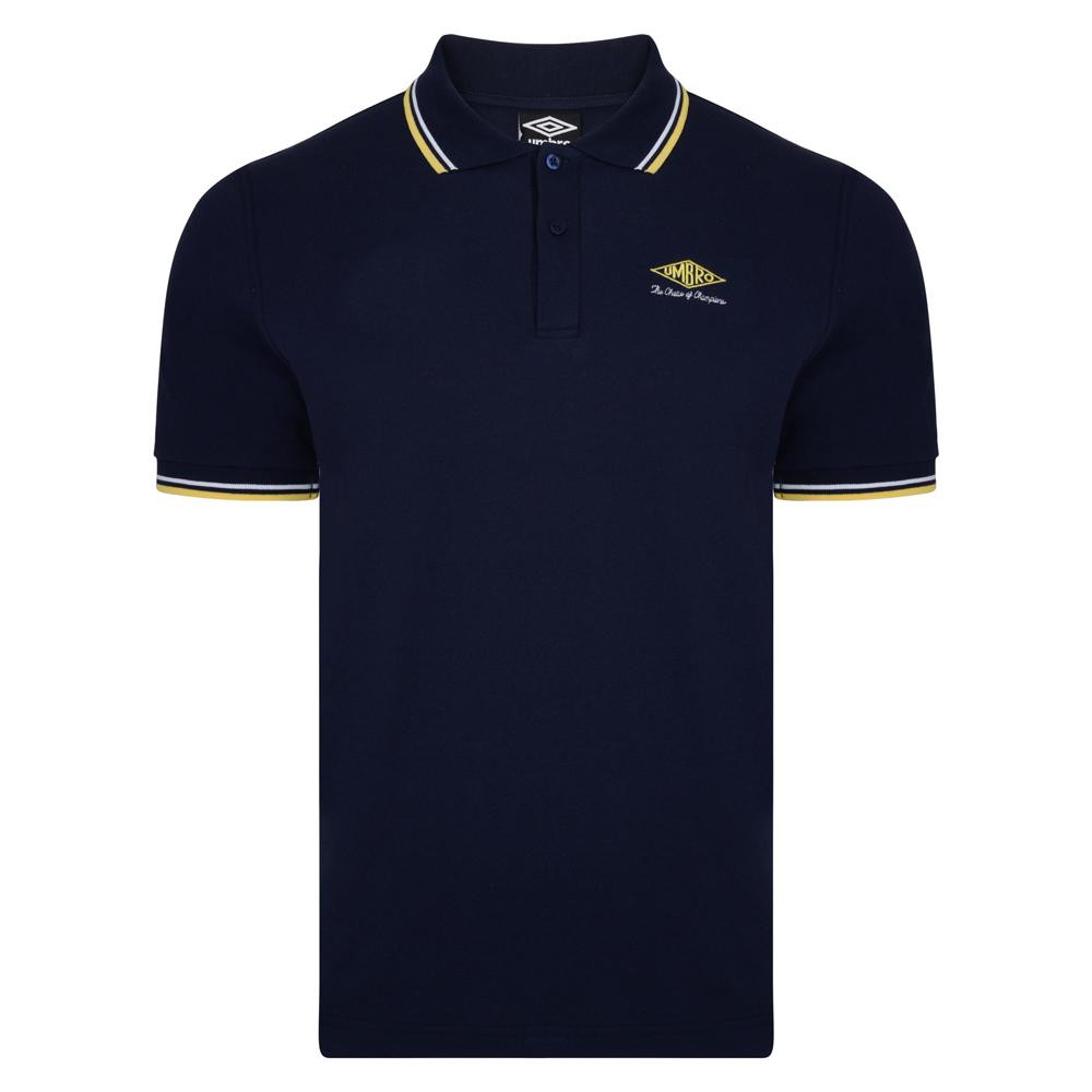 Umbro Choice of Champions Navy Polo Shirt