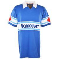 Vancouver Whitecaps 1980s Royal Away Retro Football Shirt