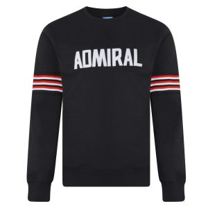 Admiral 1974 Black Club Sweatshirt