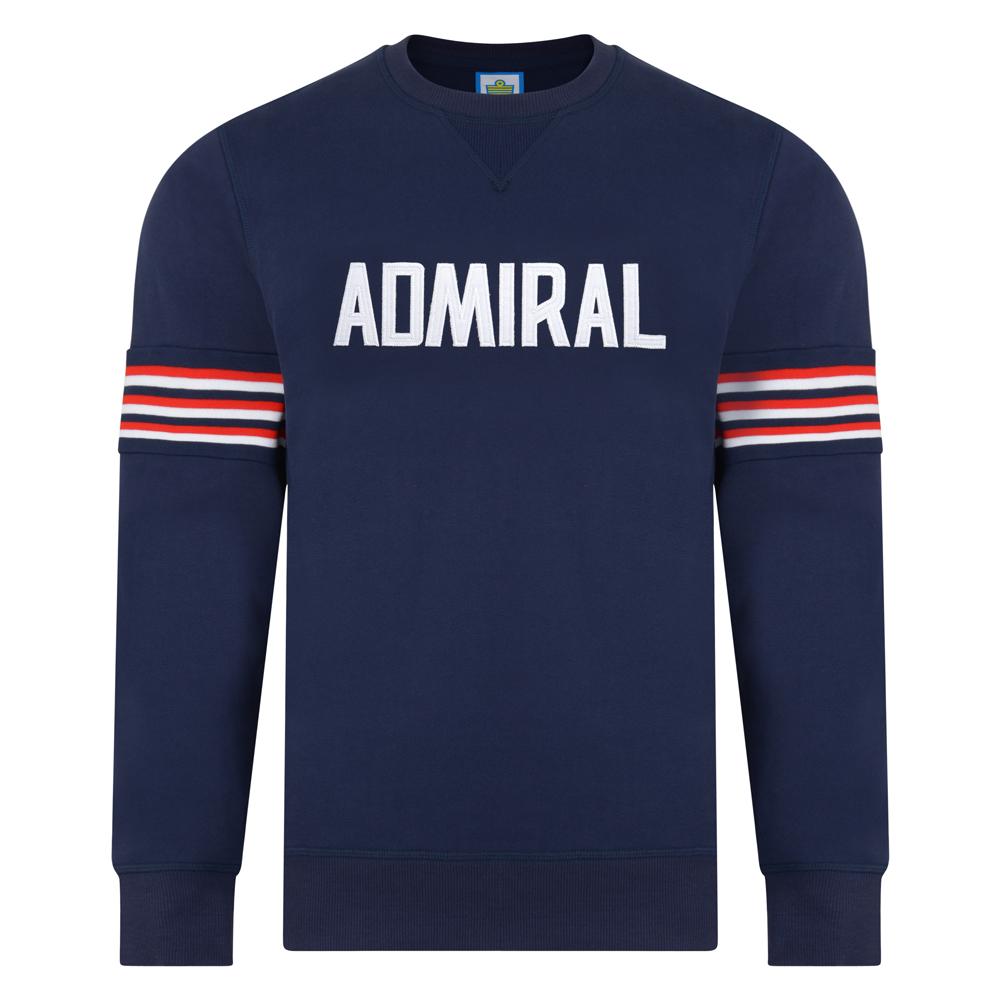 Admiral 1974 Navy England Sweatshirt