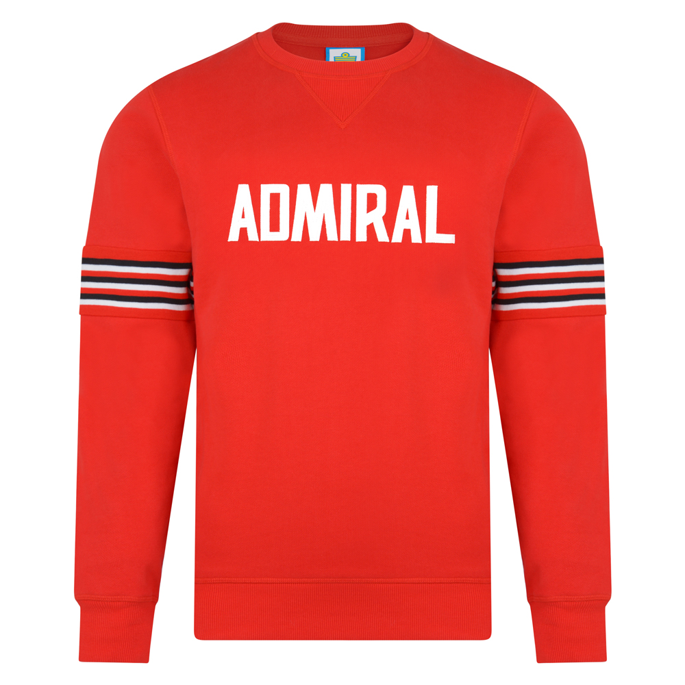 Admiral 1974 Red Club Sweatshirt