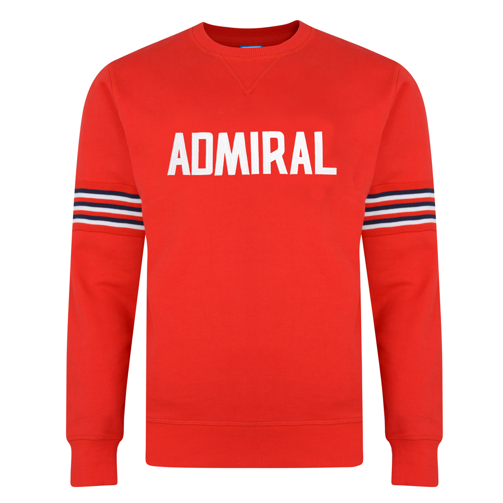 Admiral 1974 Red England Sweatshirt
