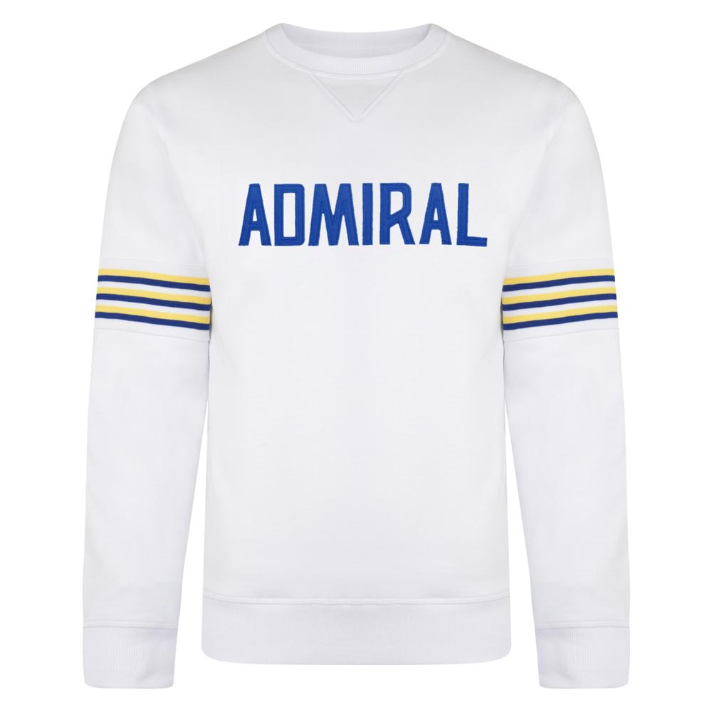 Admiral 1974 White Club Sweatshirt