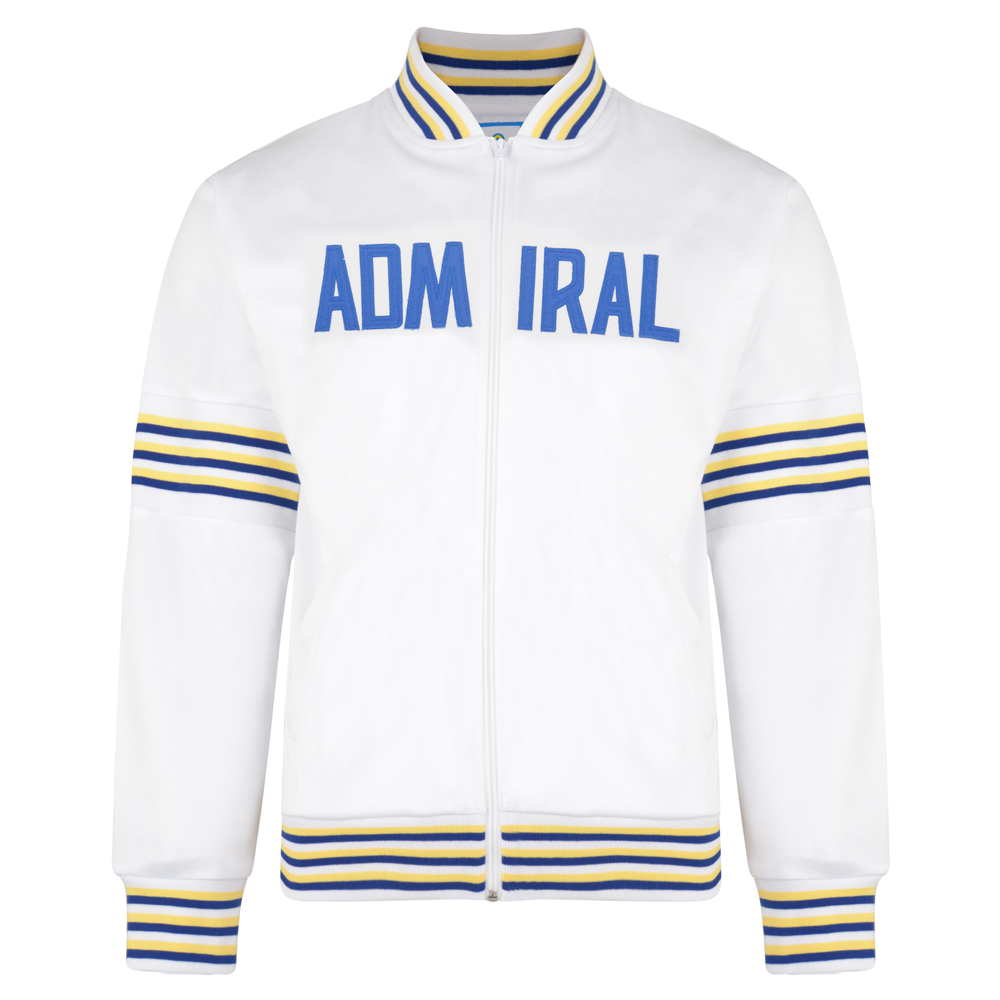 Admiral 1974 White Club Track Jacket