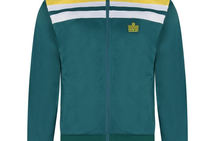 Admiral 1982 Green Club Track Jacket