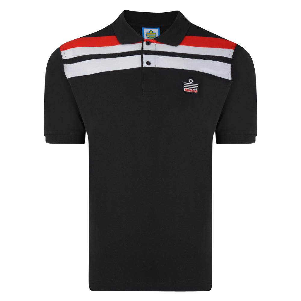 Admiral 1982 Black Club Polo