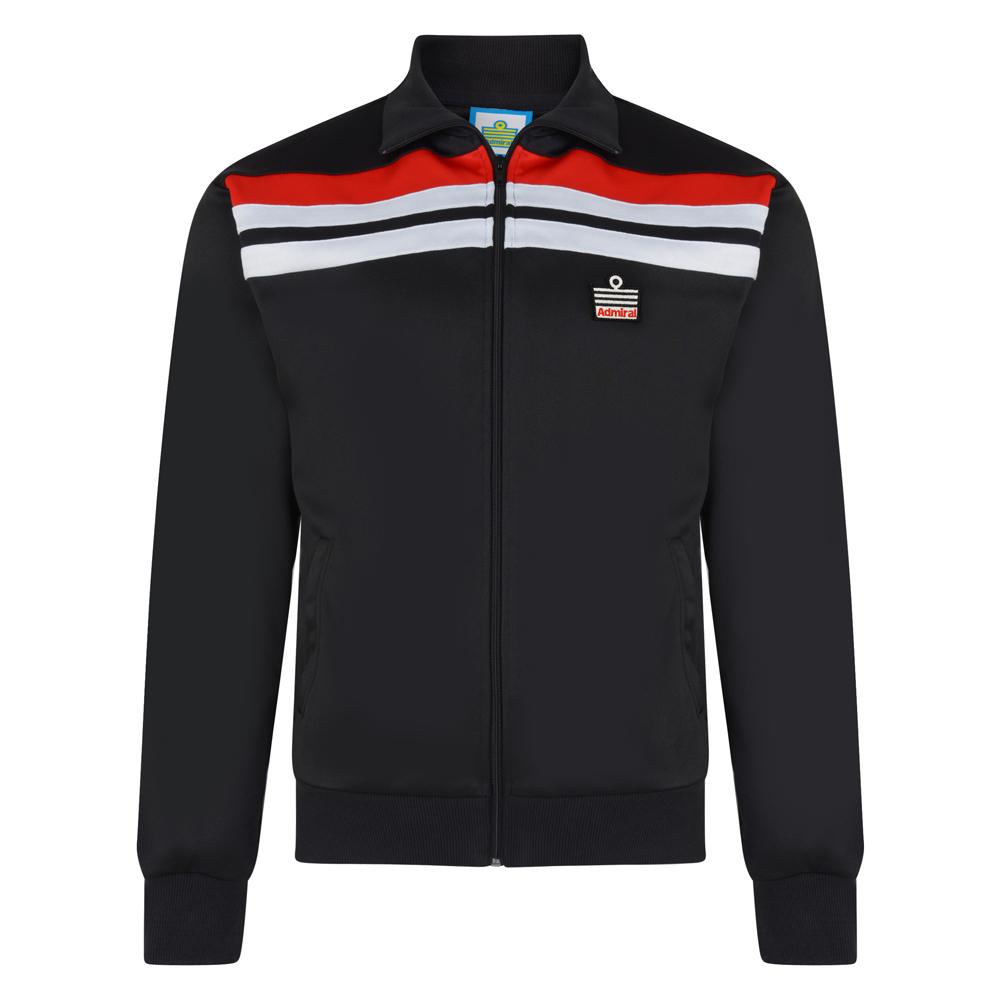 Admiral 1982 Black Club Track Jacket