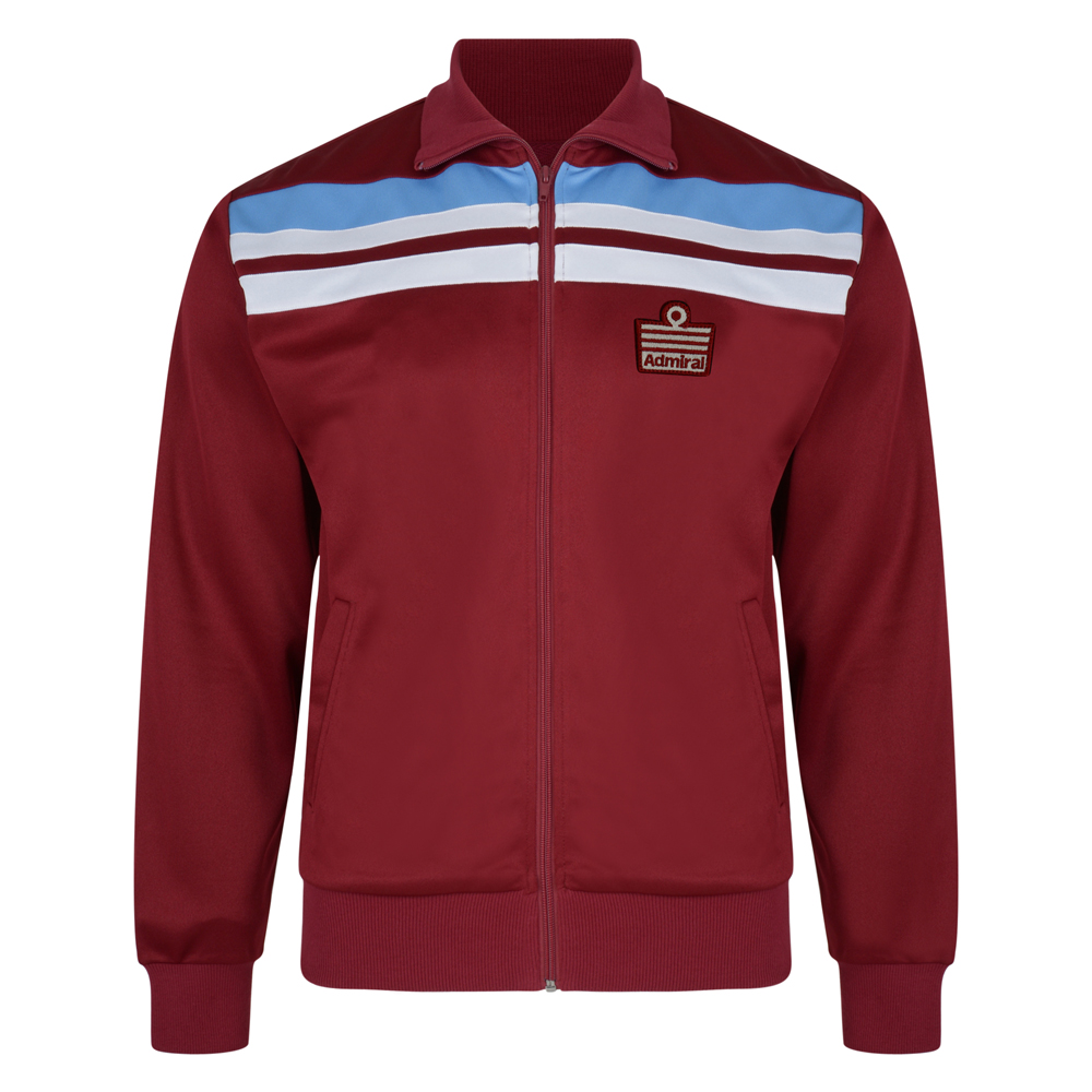 Admiral 1982 Claret Club Track Jacket
