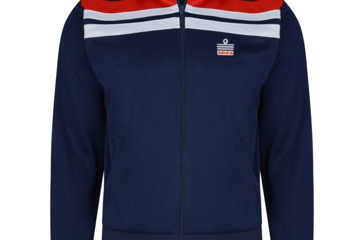 Admiral 1982 Navy England Track Jacket