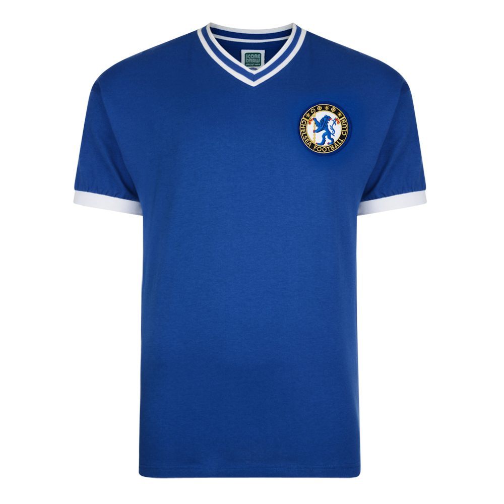 Chelsea 1960 No8 Retro Football Shirt