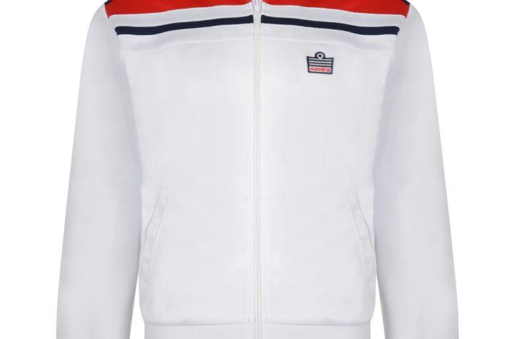Admiral 1982 White England Track Jacket