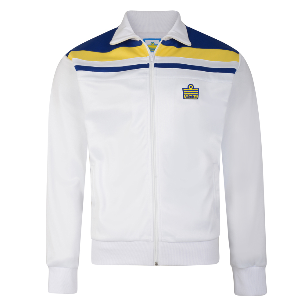 Admiral 1982 White Club Track Jacket