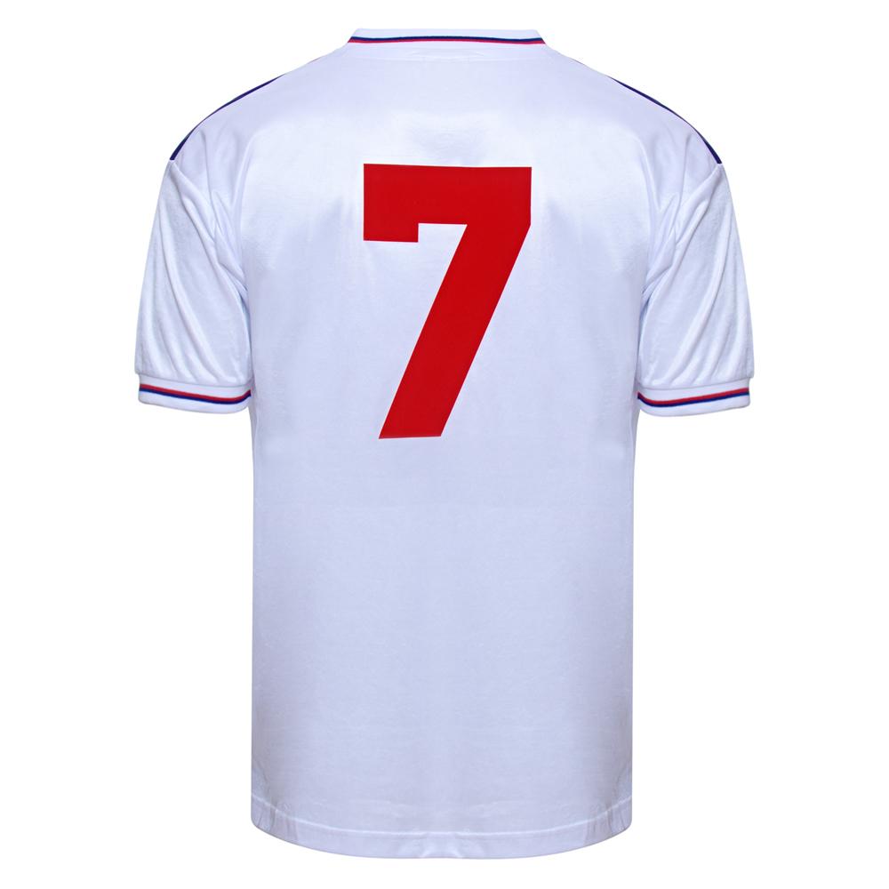 England 1982 World Cup Finals No7 shirt