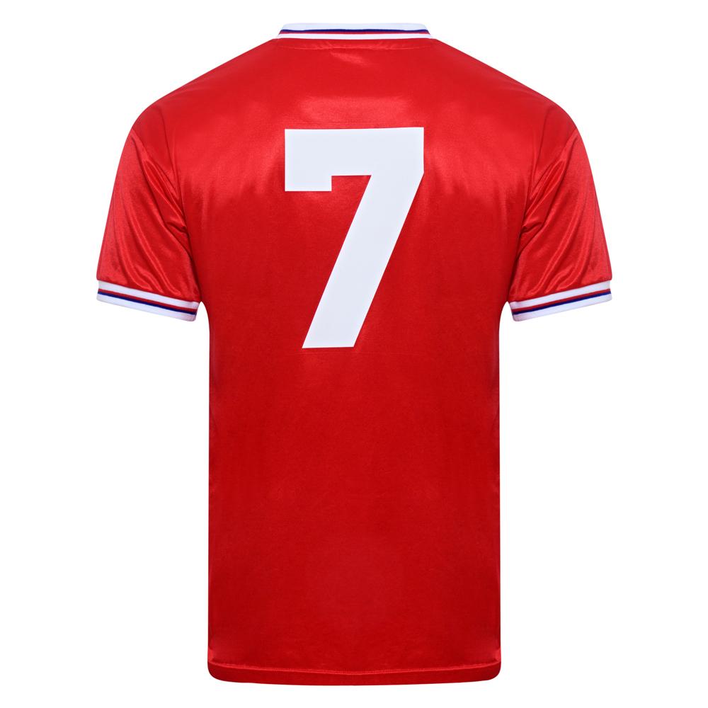 England 1982 World Cup Finals Away No7 Retro Shirt