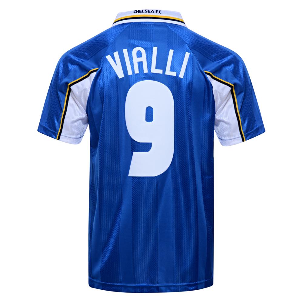 Chelsea 1998 ECWC Final No9 Vialli shirt