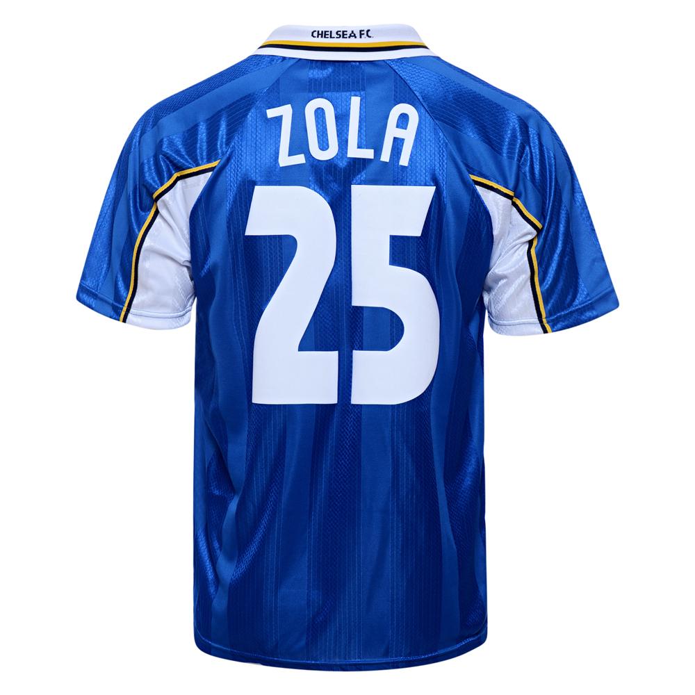 Chelsea 1998 ECWC Final No25 Zola shirt