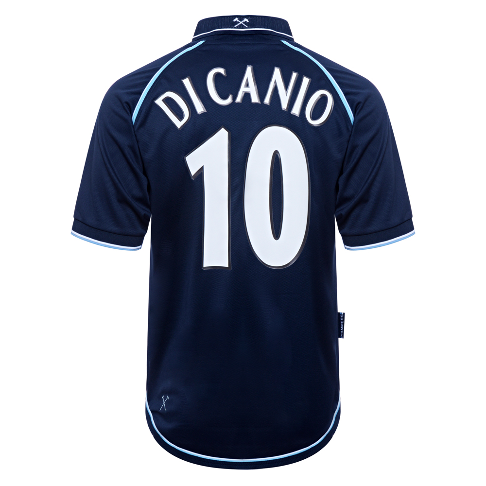 West Ham United 2000 Away No10 Di Canio Shirt