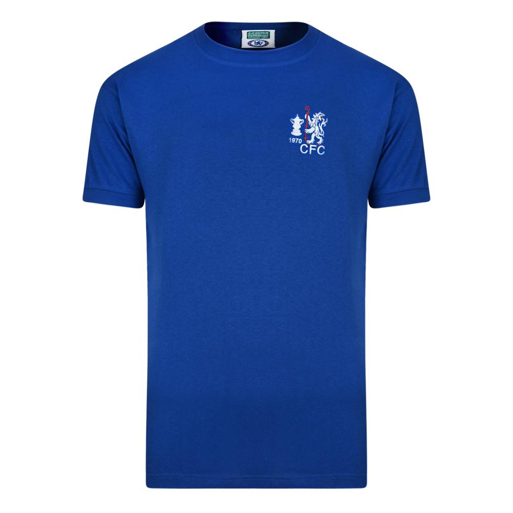 Chelsea 1970 FA Cup Winners Retro Football Shirt