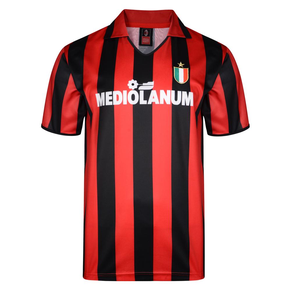 AC Milan 1988 Retro Football Shirt