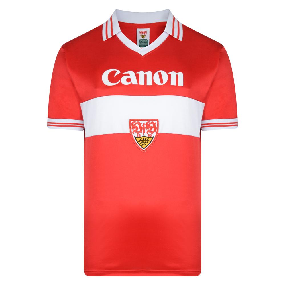 VfB Stuttgart 1980 Auswart trikot Football shirt