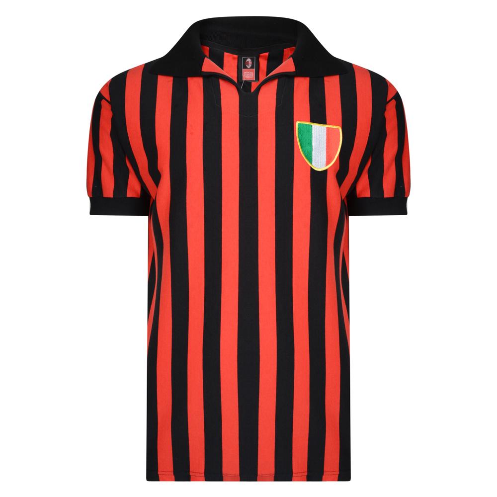 AC Milan 1963 Retro Football Shirt