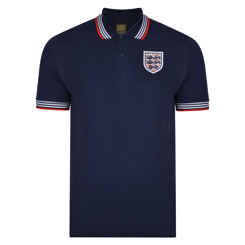 England 1974 Empire Navy Polo shirt