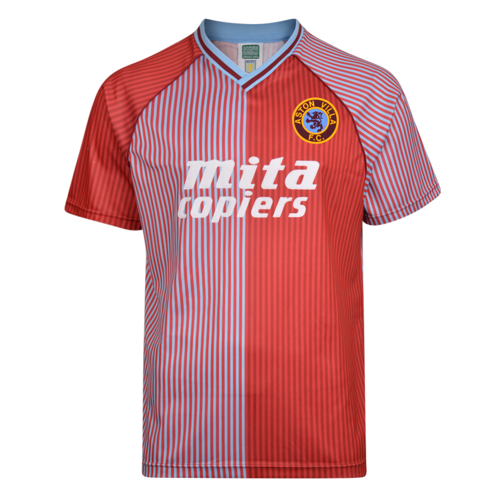 Aston Villa 1988 Retro Football Shirt