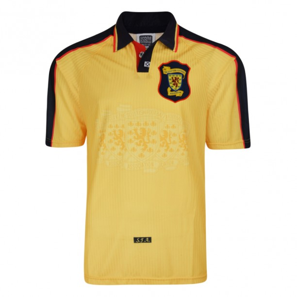 Scotland 1998 World Cup Finals Away Retro Shirt