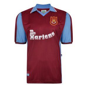West Ham United 1998 Retro Football Shirt