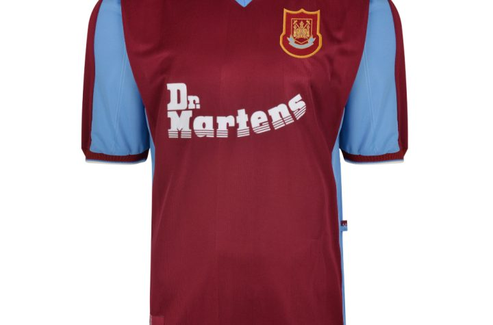 West Ham United 1998 Retro Football Shirt