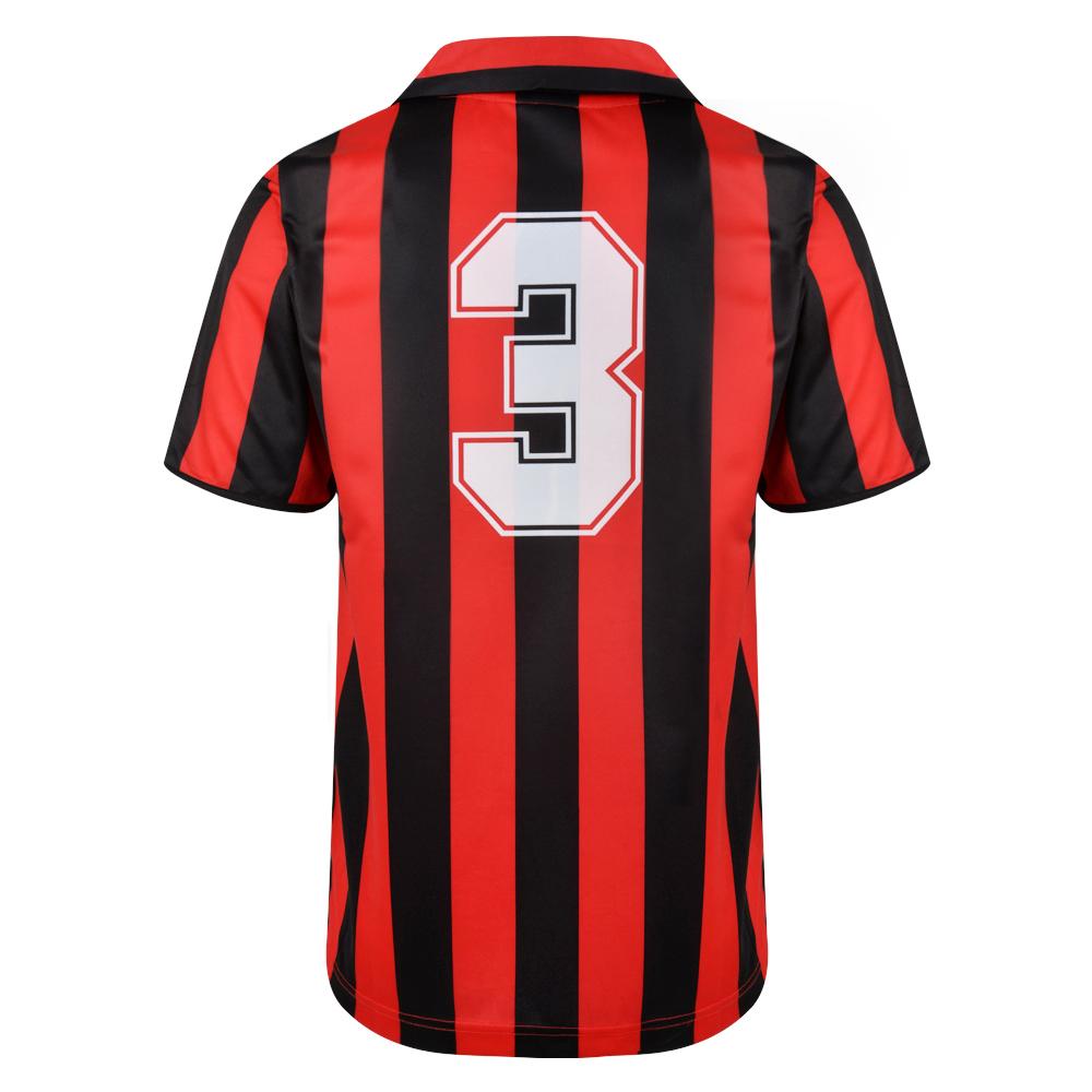 AC Milan 1988 No3 Retro Football Shirt