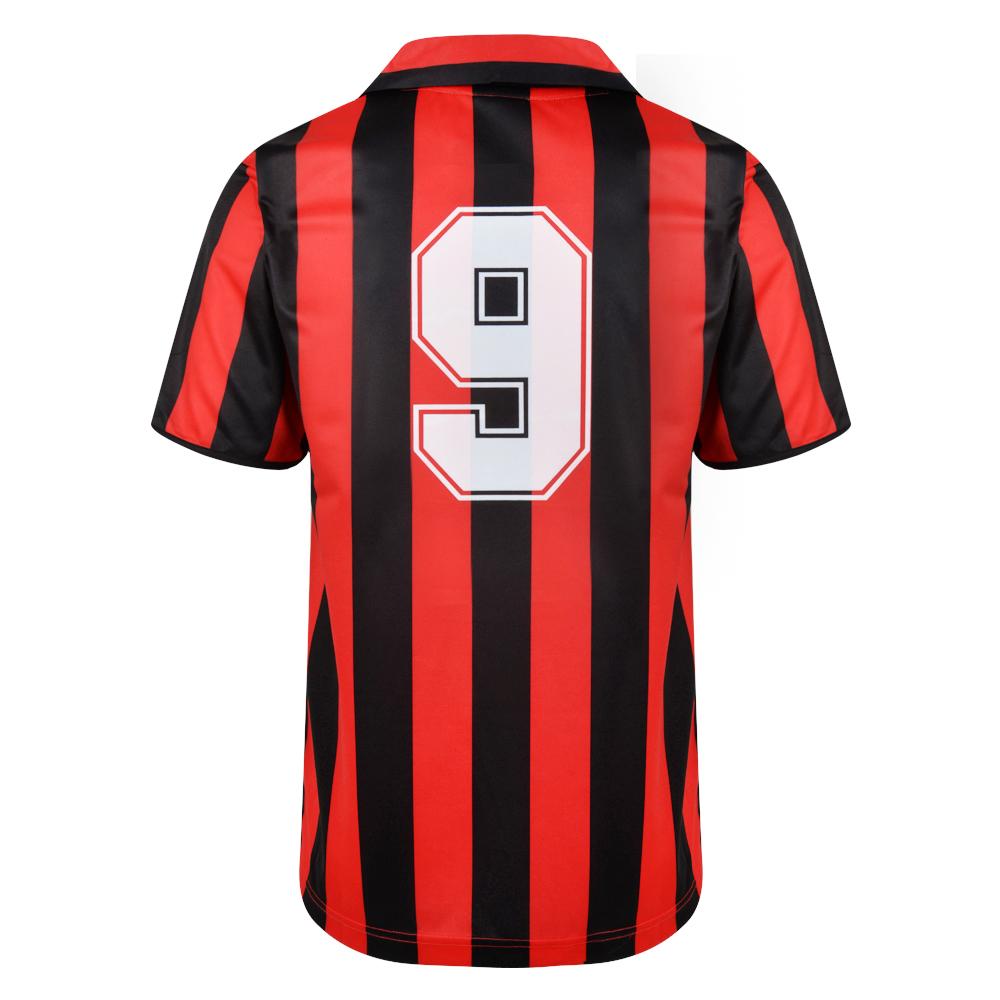 AC Milan 1988 No9 Retro Football Shirt
