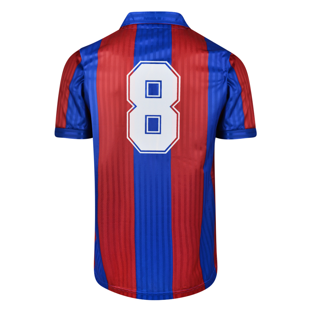 Barcelona 1992 No.8 Retro Football Shirt