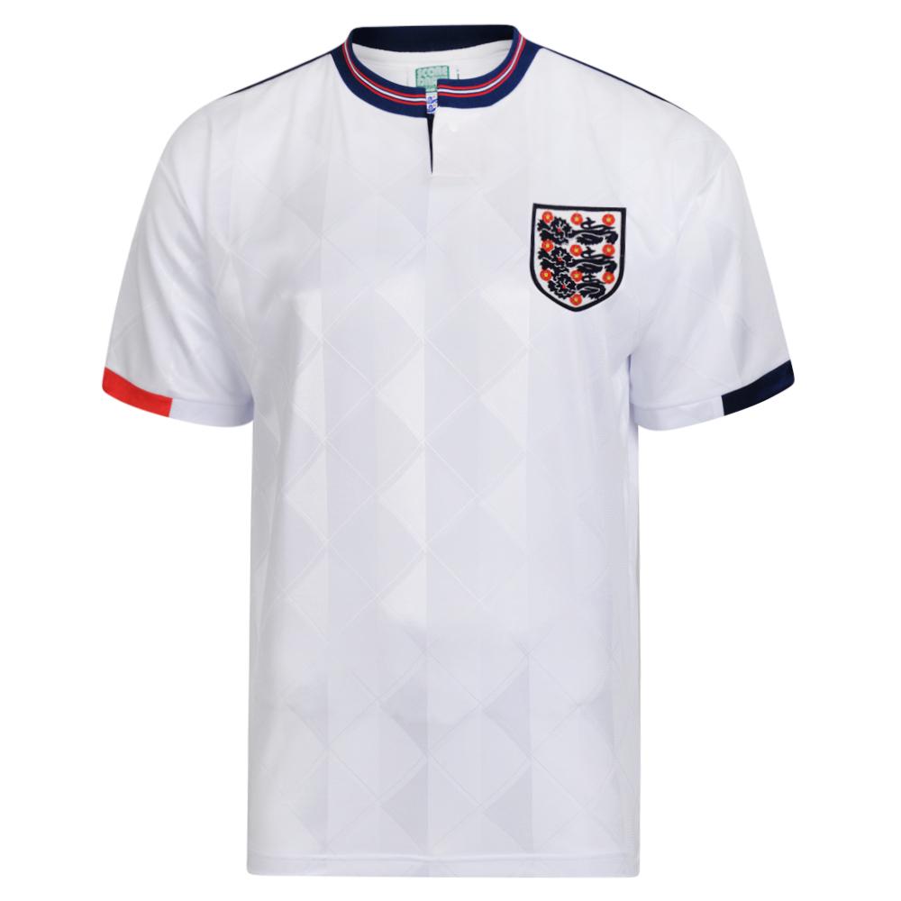 England 1989 Retro Football shirt