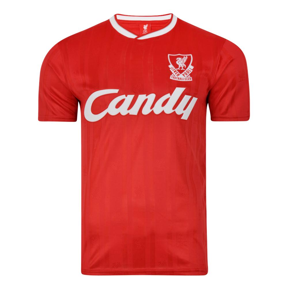 Liverpool FC 1989 Retro Football Shirt