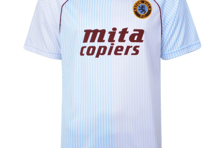 Aston Villa 1988 Retro Football Away Shirt