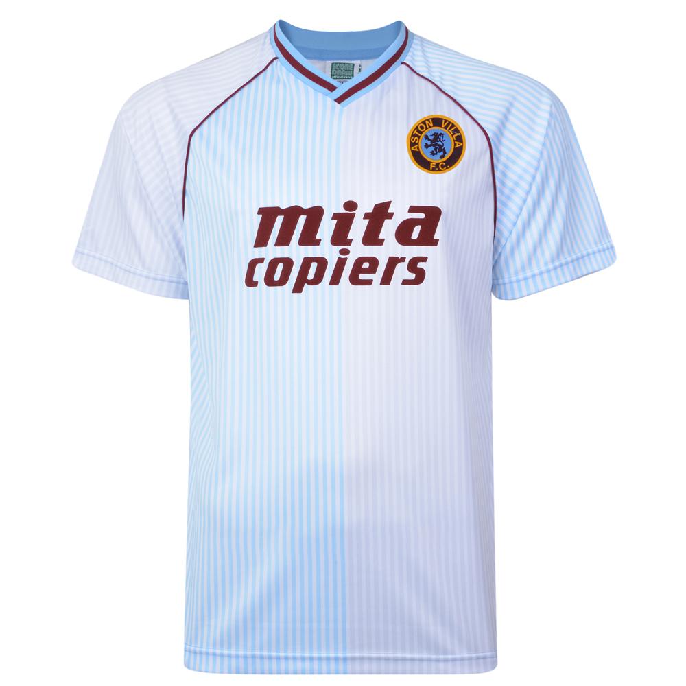 Aston Villa 1988 Retro Football Away Shirt