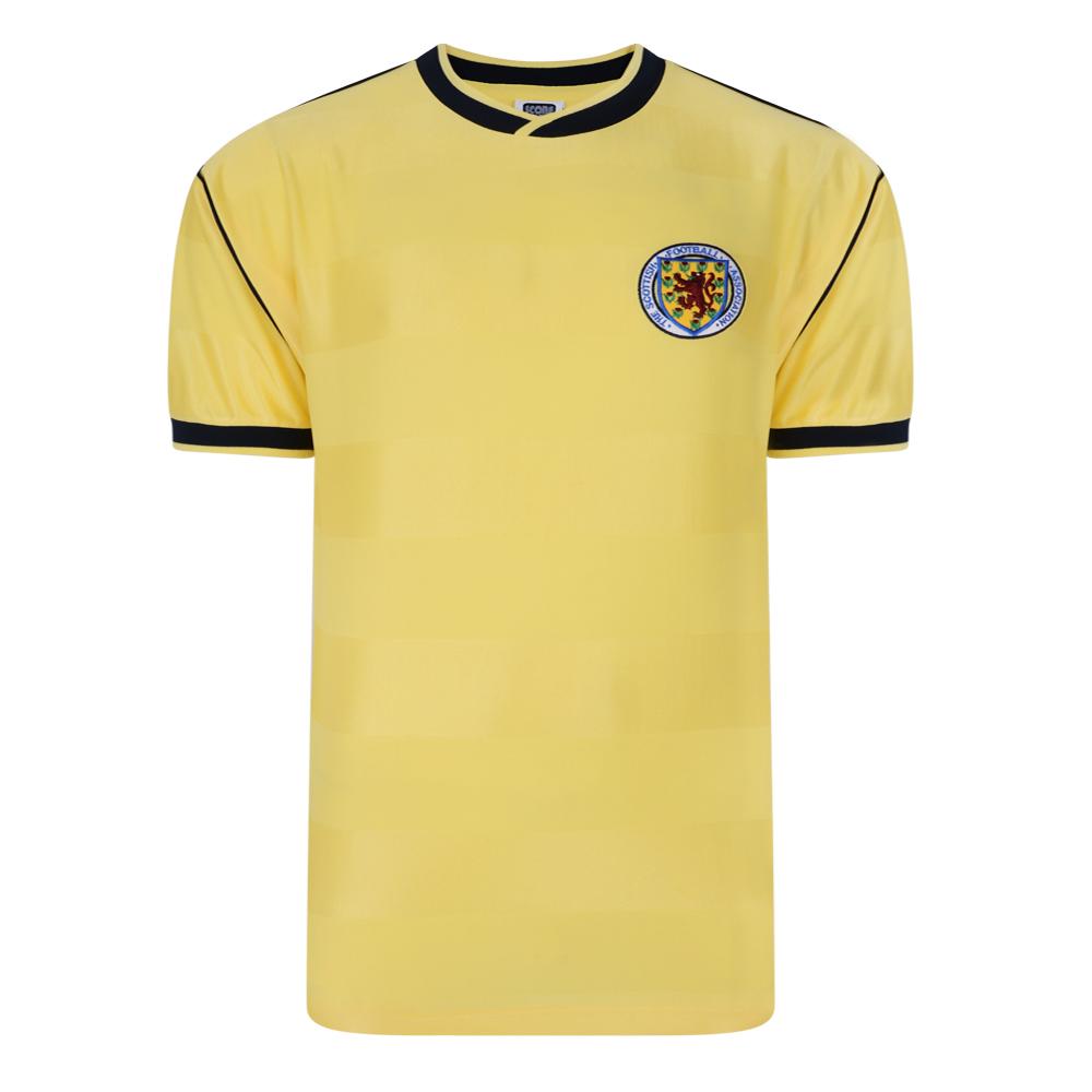 Scotland 1986 Away Retro Football Shirt