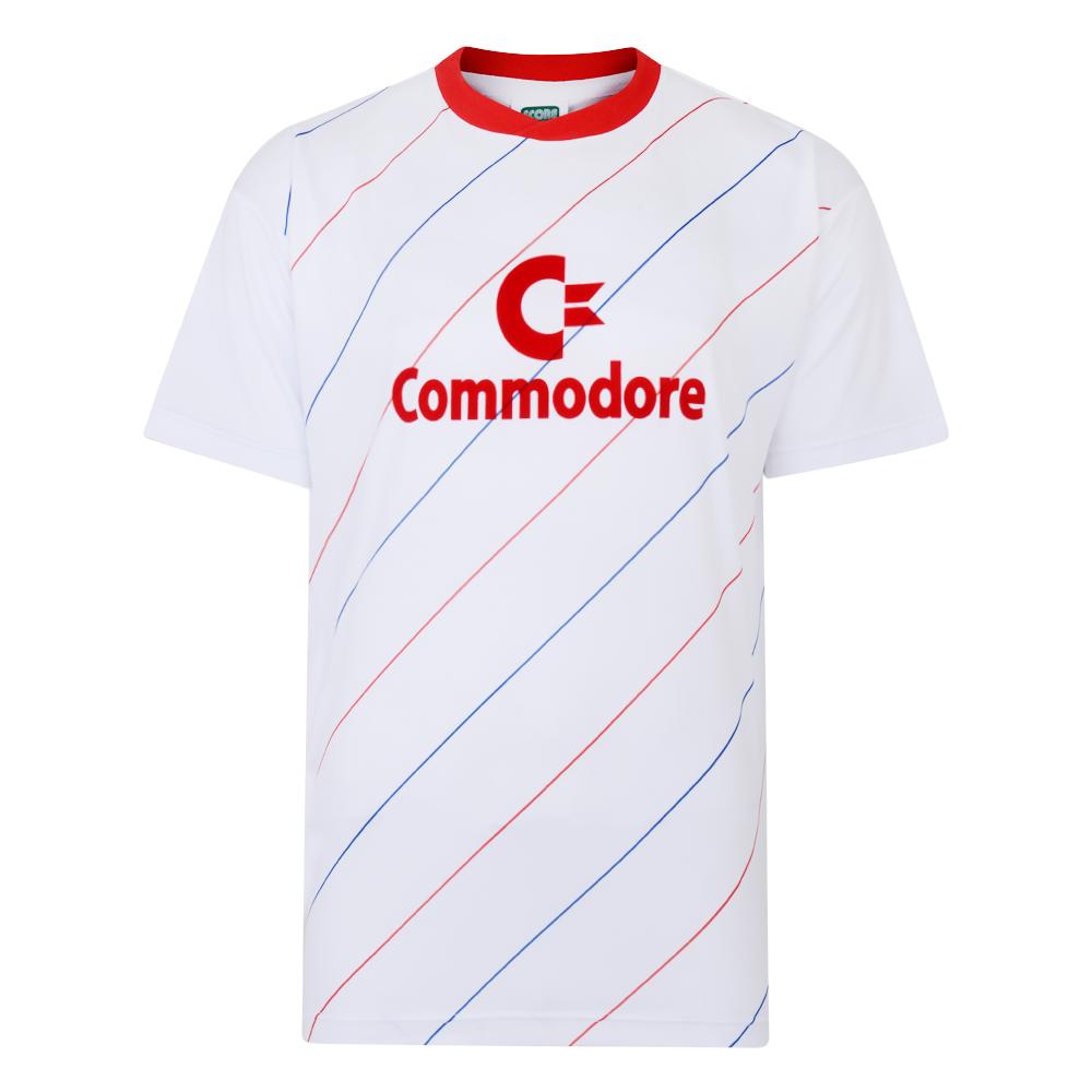 Bayern Commodore 1984 Auswar trikot Football shirt