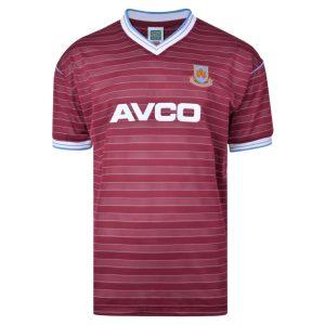 West Ham United 1986 Retro Football Shirt
