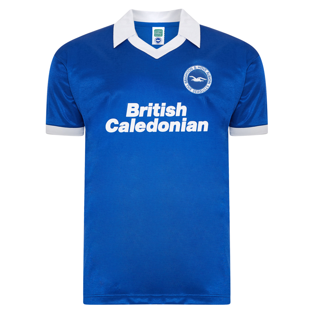 Brighton and Hove Albion 1980 shirt