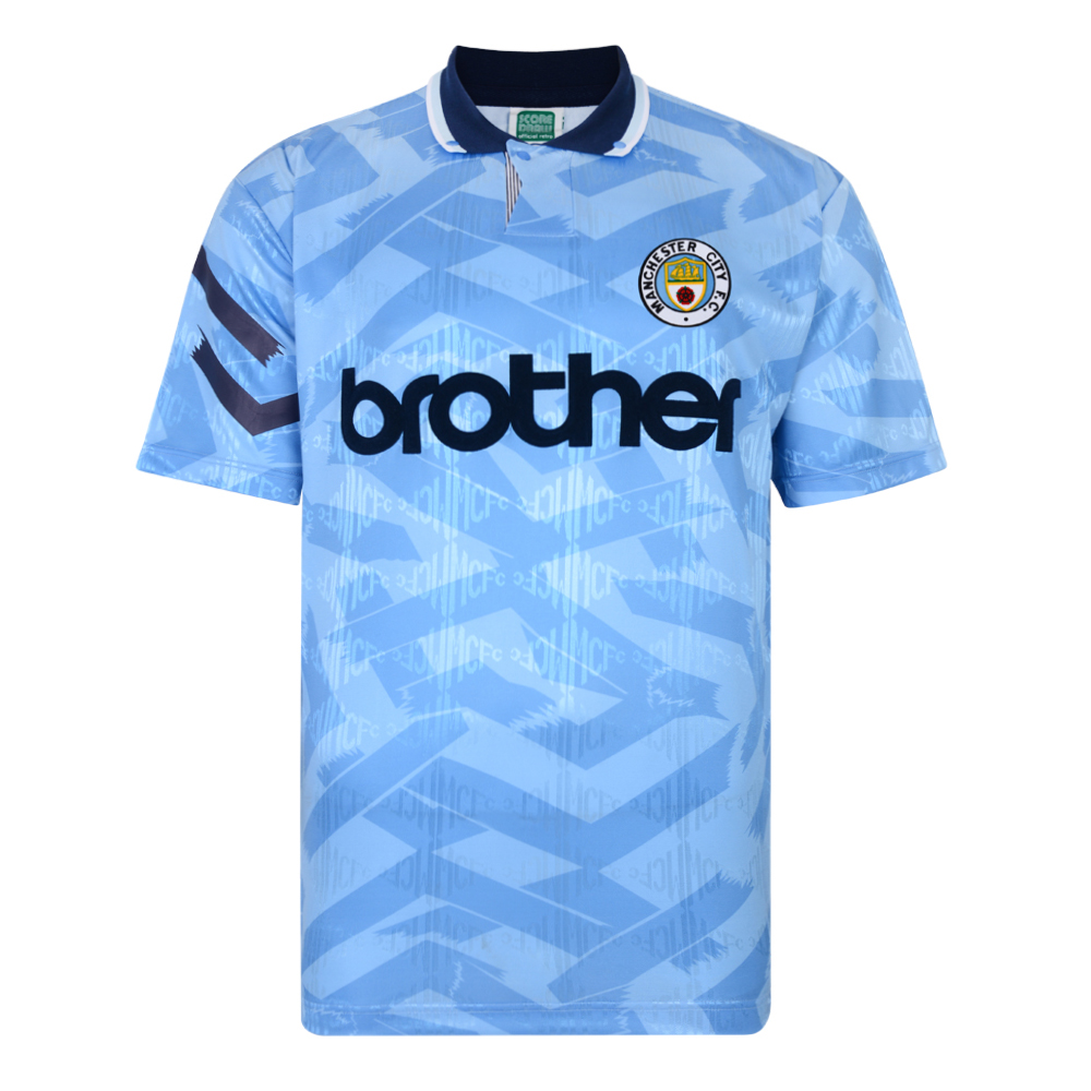 Manchester City 1992 Retro Football Shirt