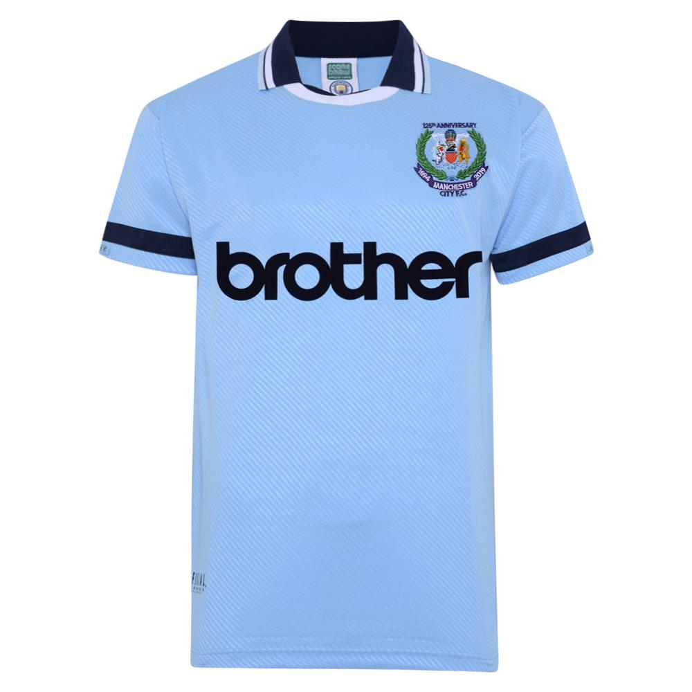 Manchester City 1994 Anniversary Retro Shirt