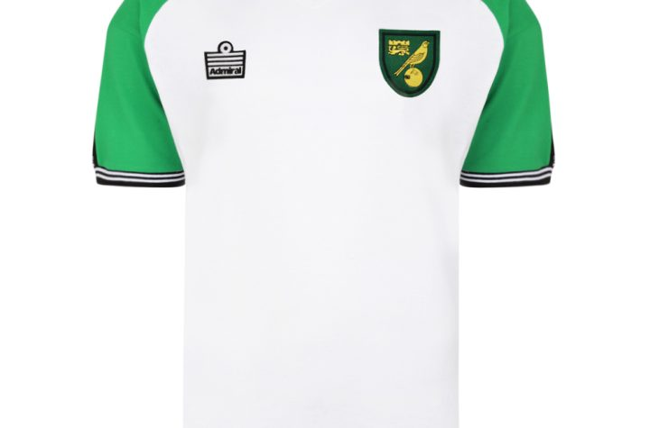 Norwich City 1978 Admiral Away Football Shirt
