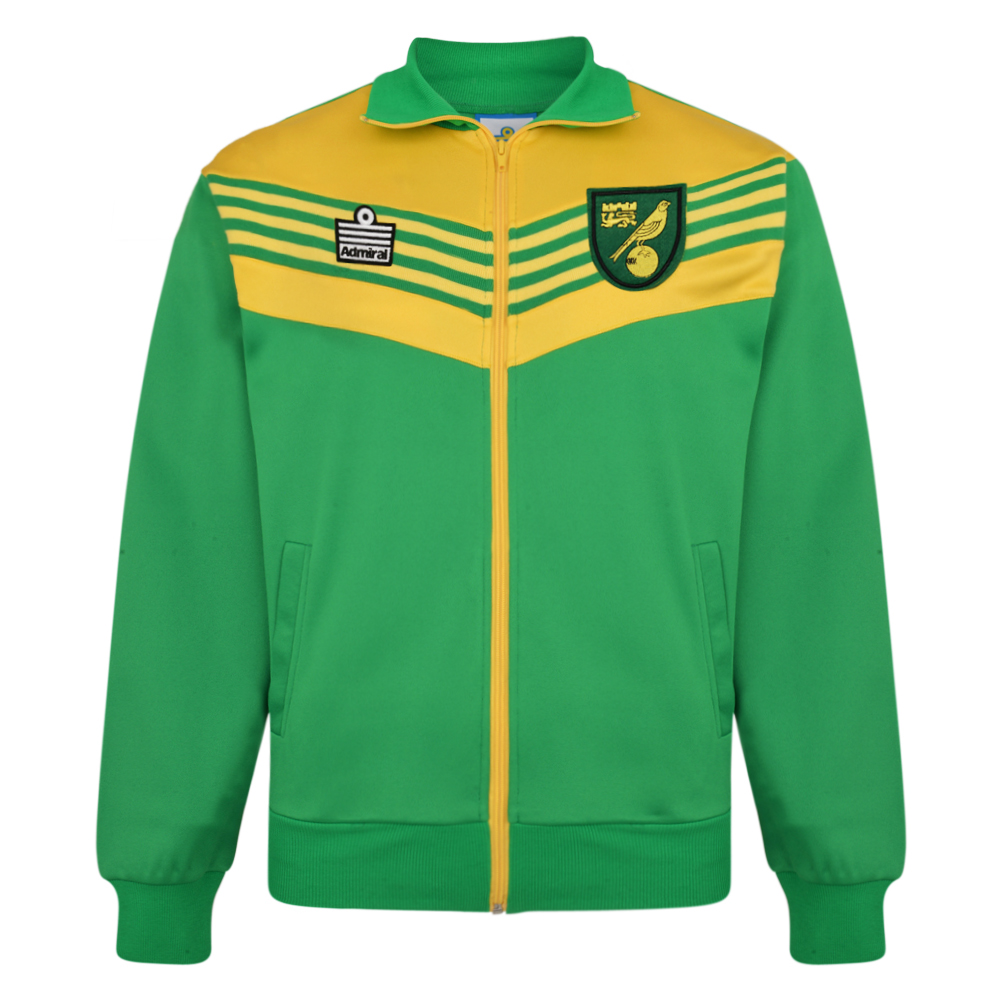Norwich City 1978 Admiral Track Jacket