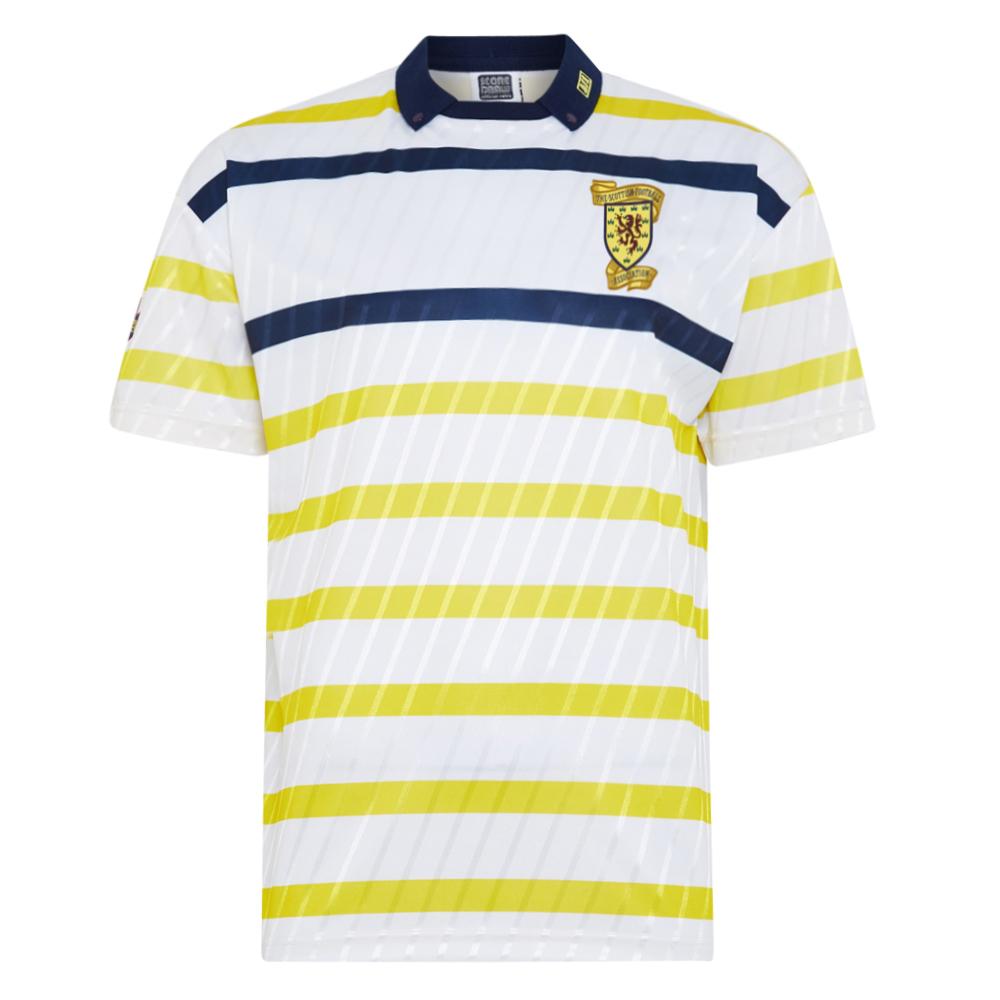 Scotland 1990 Away Retro Football Shirt