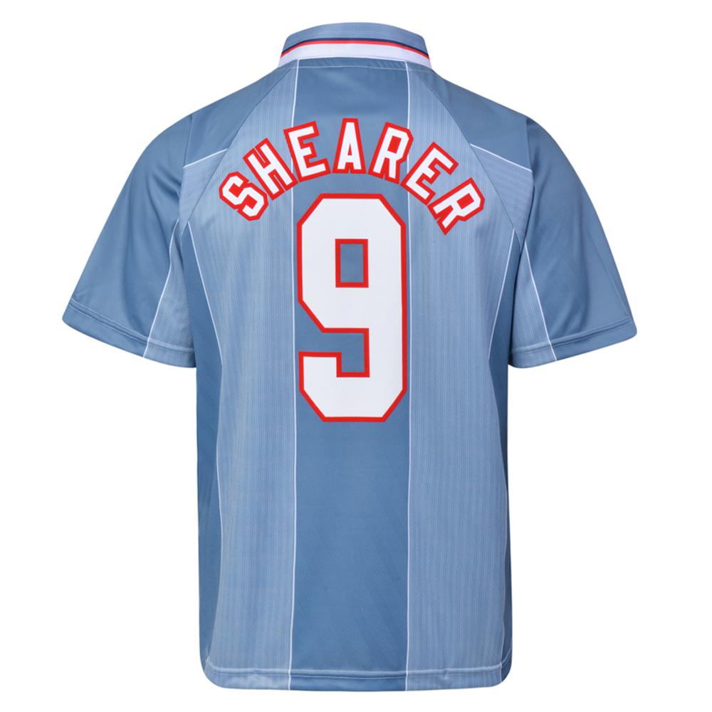 England 1996 Away No.9 Euro Championship Shirt